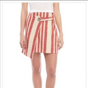 Brand new free people it's a wrap skirt